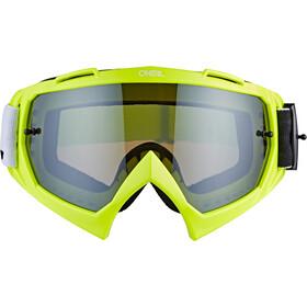 O'Neal B-10 Goggles, twoface hi-viz-mirror silver